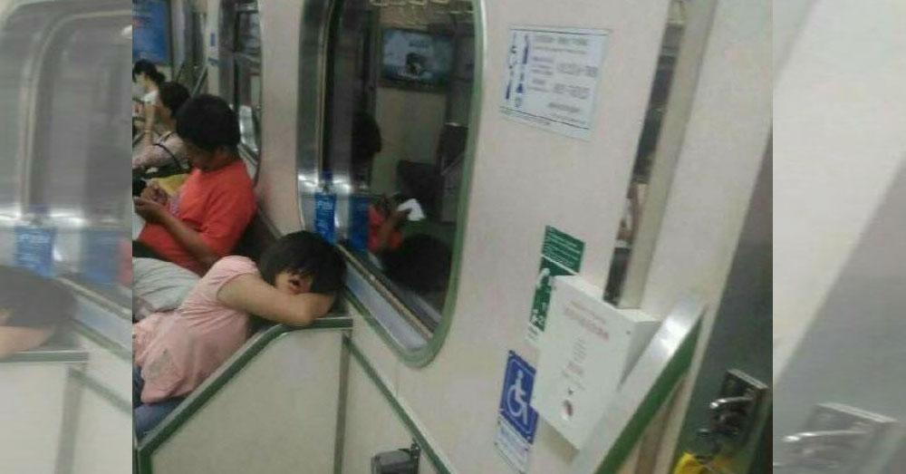เธอกำลังจ้องผมอยู่...?! หนุ่มมาเลย์กับ 'ดวงตาเด็กหญิง' ในขบวนรถไฟ ...งานนี้มีสะดุ้ง!!