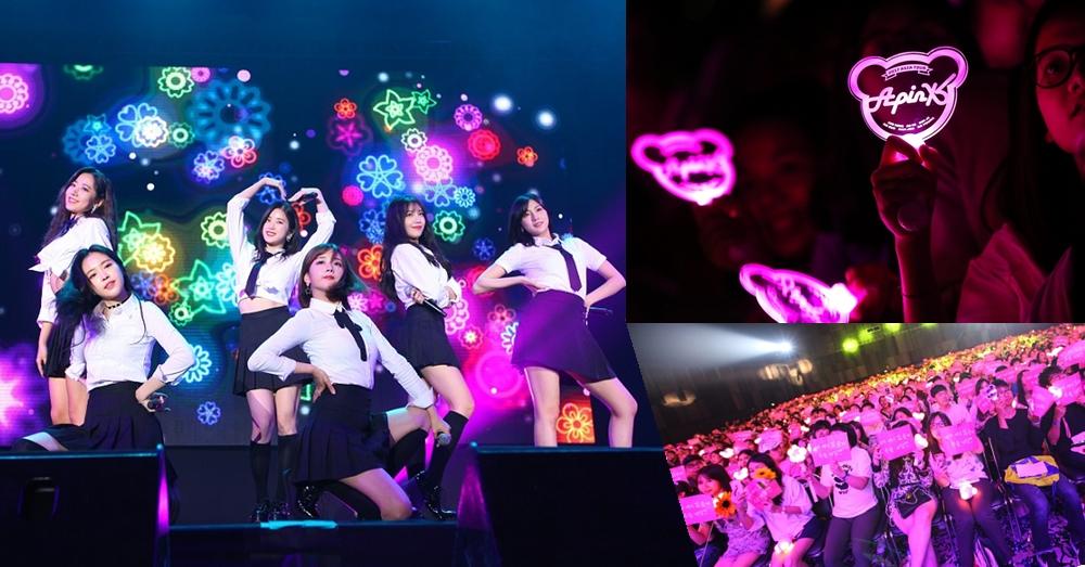 ประมวลภาพความคิวบ์! 6 สาว Apink บินสบตาแฟนคลับชาวไทย