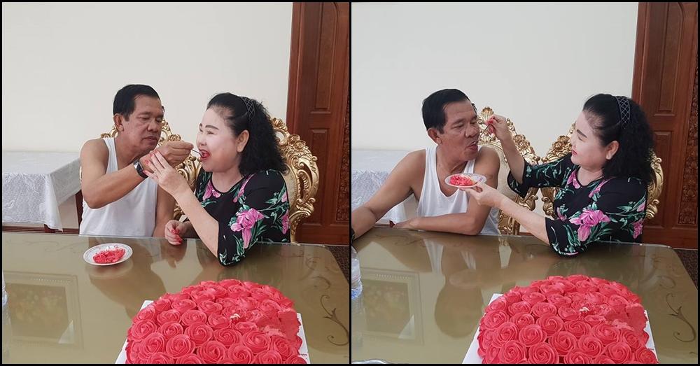 โมเมนท์นี้ก็มี! ลูกชายฮุนเซนโพสต์มุมหวานคุณพ่อ ในวันฉลองครบรอบแต่งงาน