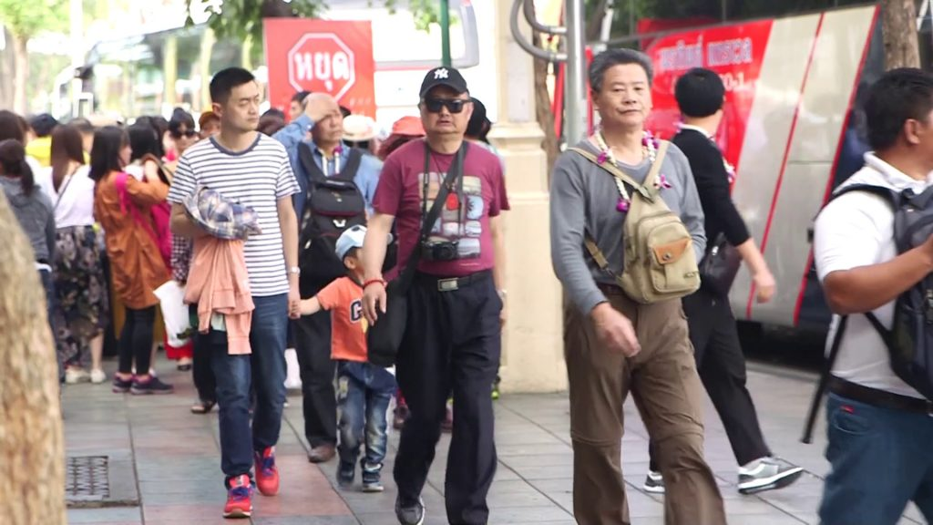 นักท่องเที่ยวชาวจีน