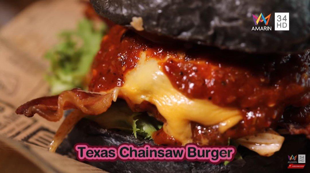 Texas Chainsaw Burger