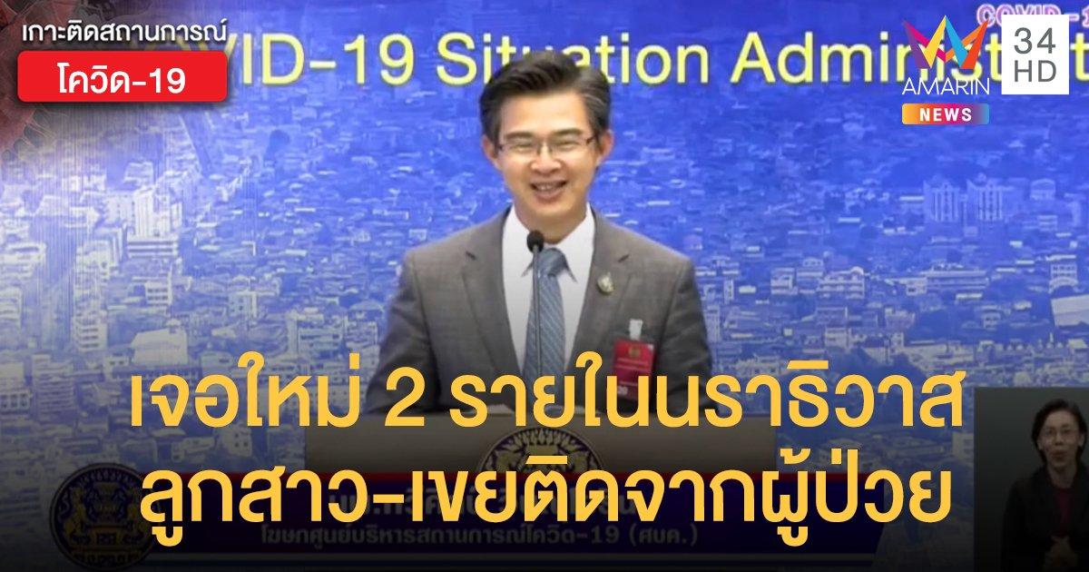 สถานการณ์แพร่ระบาดโรคโควิด-19 ในประเทศไทย 19 พ.ค. เจอเชื้อใหม่ 2 รายในนราธิวาส ลูกสาว-เขยติดจากผู้ป่วย