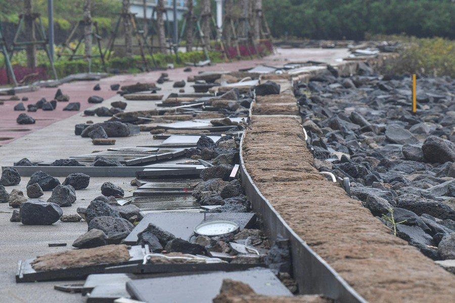 ภาพความเสียหาย ไต้ฝุ่น คมปาซุ