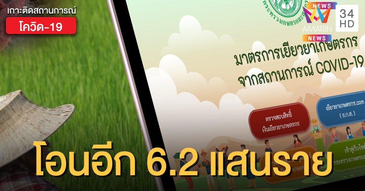 ตรวจสอบผลการโอนเงิน www.เยียวยาเกษตรกร .com วันนี้ ธ.ก.ส.จ่ายเยียวยา 5,000 อีก 6.2 แสนคน
