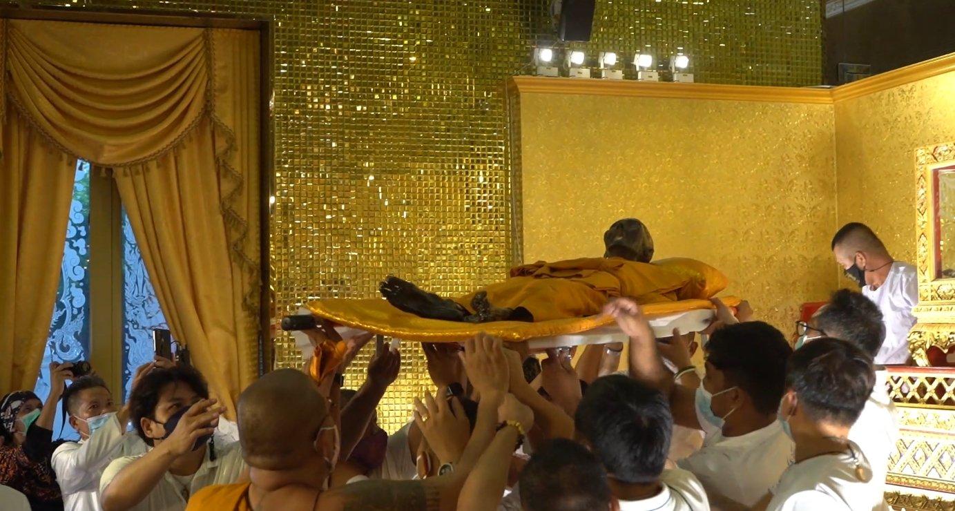 หลวงพ่อพูล ประดิษฐานศาลาหลังใหม่