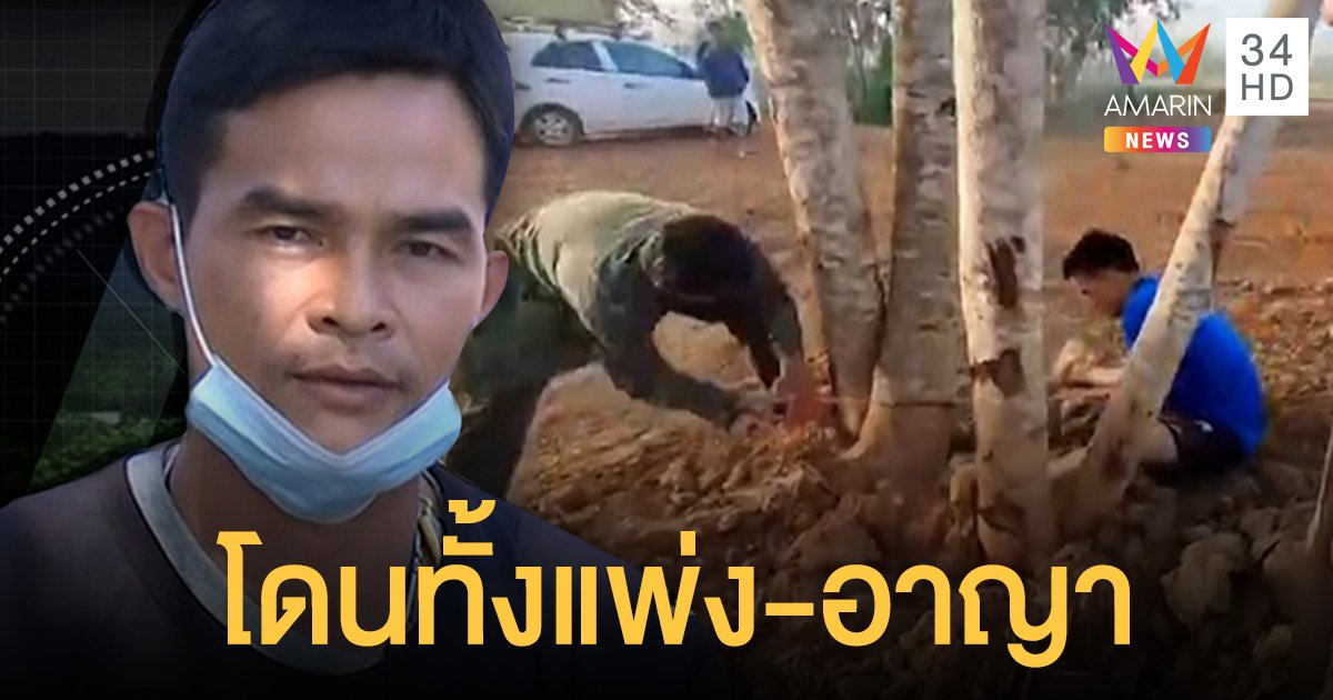 """""""ลุงพล"""" เจออีก 1 ข้อหาตัดไม้ในป่าสงวน พ่วงคดีแพ่ง เรียกค่าเสียหายทำโลกร้อน"""