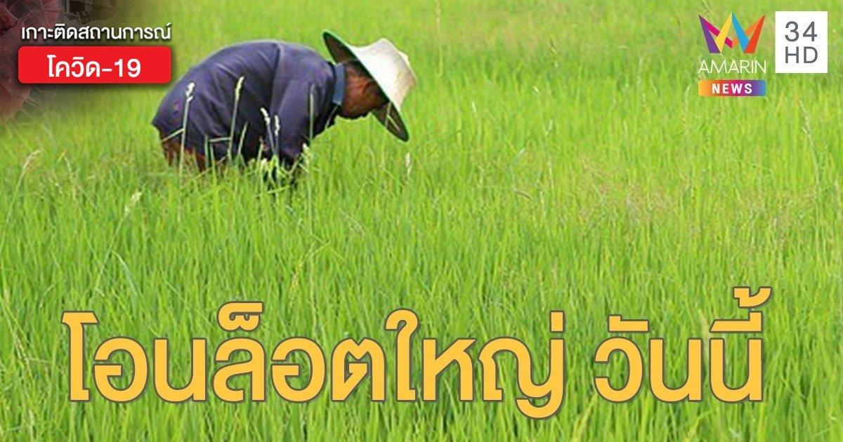 """ตรวจสอบผลการโอนเงิน """"เยียวยาเกษตรกร"""" ธ.ก.ส.โอนล็อตใหญ่ วันนี้ 2 มิ.ย. 63"""