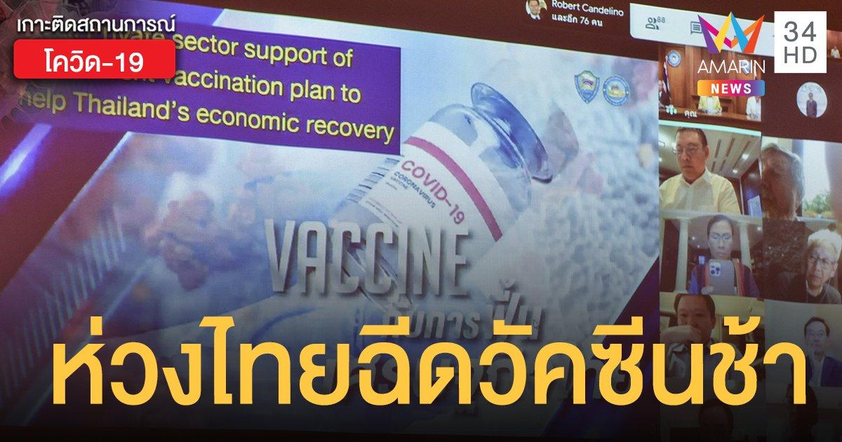 ซีอีโอ 40 บริษัทใหญ่ ช่วยรัฐจัดหา วัคซีนโควิด เผยพร้อมจ่ายค่าวัคซีนให้ พนง. 1 ล้านคน