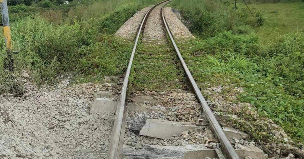 ป่วน!วาง ระเบิด รถไฟขบวนพิเศษสินค้า ใกล้สถานี ตันหยงมัส ปรับสายใต้วิ่งแค่ยะลา