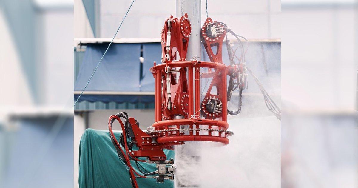 'เออาร์วี'ผนึก 'โรโตเทค' ให้บริการ หุ่นยนต์ ตรวจท่อแนวตั้งเครื่องแรกของโลก