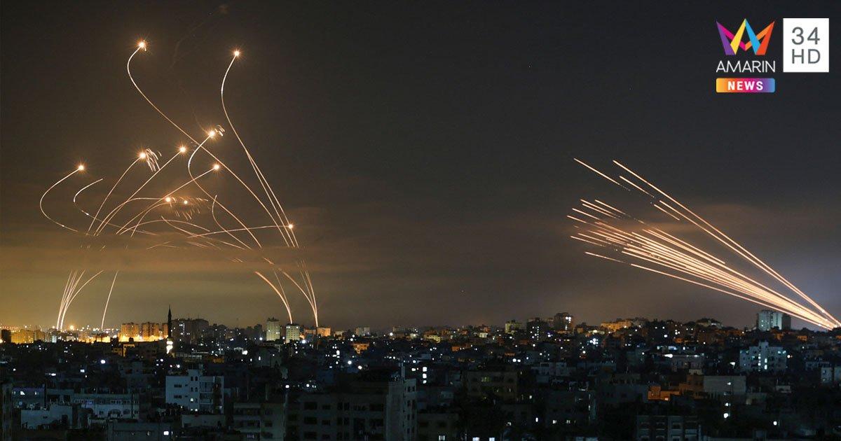 อิสราเอล ยกระดับโจมตี ฉนวนกาซา ชาวปาเลสไตน์ดับทะลุ 100 ราย