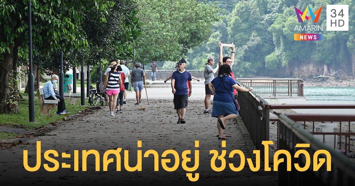 สิงคโปร์ อันดับ 1 ประเทศน่าอยู่สุดช่วง โควิด แพร่ระบาด